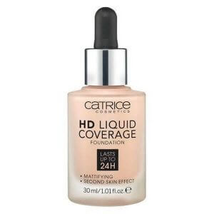 Kem Nền CATRICE HD Liquid Coverage Foundation Lasts Up To 24H