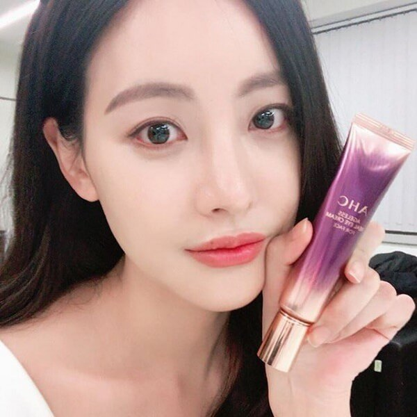 Kem dưỡng mắt ahc ultimate real eye cream for face