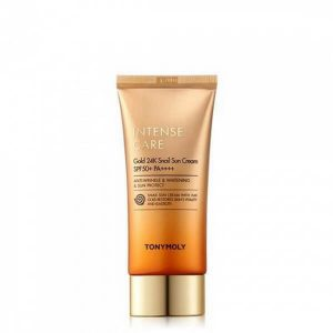 Tonymoly intense care gold 24k snail sun cream
