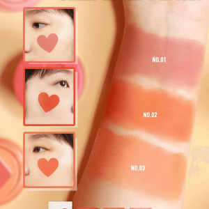 Má hồng cushion trái tim Sivanna Colors Love Illusion Stamp Blush