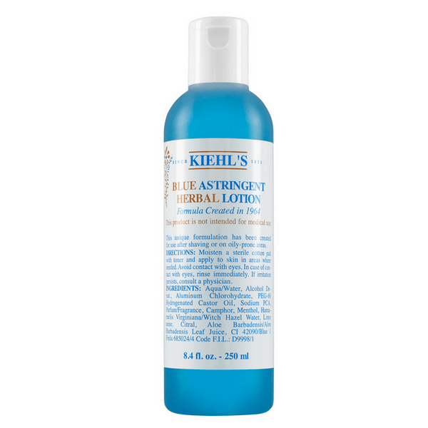 Nước Hoa Hồng Kiehl's Blue Astringent Herbal Lotion 250ml